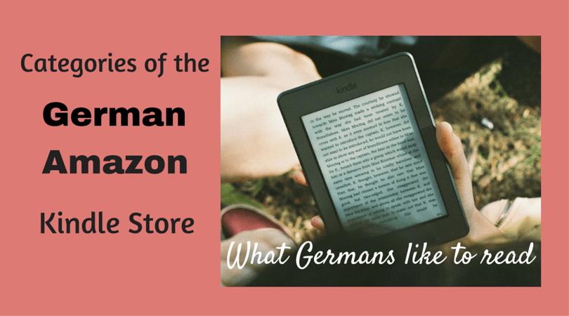 German Amazon categories