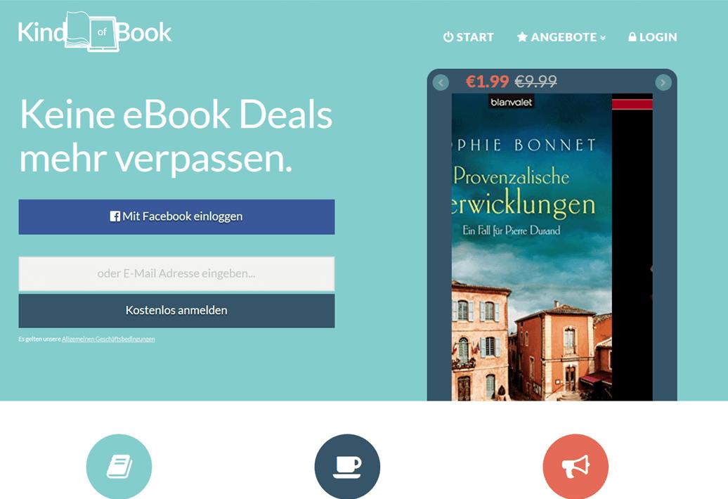 Book promotion websites in Germany – Indies Go German