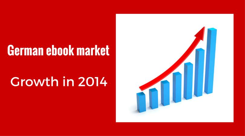 Growth of German ebook market