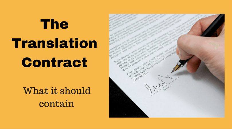 translation contract